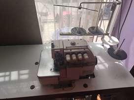 Máquinas fileteadoras y máquina plana