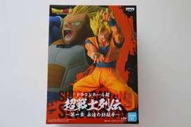 Dragon ball z super figura banpresto BANDAI Sticker Dorado Saiyan Son Gokou Goku Kamehameha