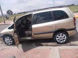 Chevrolet Zafira 2007 vehículo familiar excelente estado