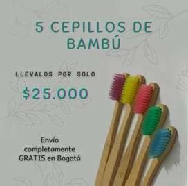 Cepillos de bambú