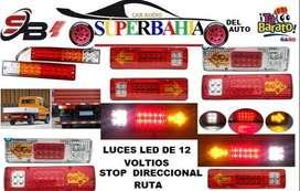 LUZ LED TRIPLE 24 VOLTIOS PARA CONTAINER CAMIÓN BUS