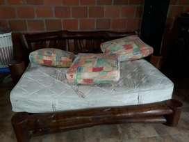 Vendo Sofa Cama Rustico