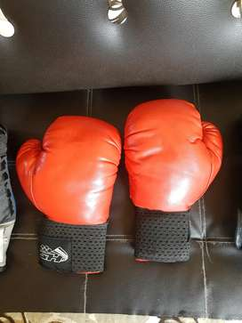 Guantes de boxeo de segunda