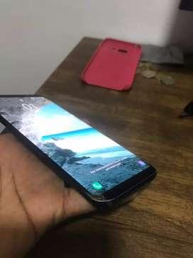 Samsung galaxy s8 plus fisurado pero funcional