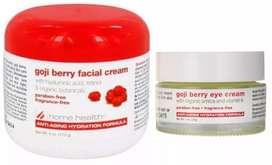 set Goji berry Americano incluye facial y contorno de ojos ORIGINAL!!!