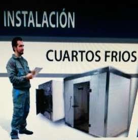 CUARTOS FRIOS ASESORIA VENTA INSTALACION TRASLADOS