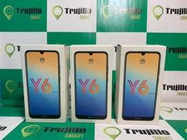 Huawei Y6 2019 32 gb tienda fisica 1 año