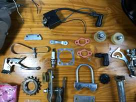Kit de Motor a gasolina de dos tiempos.