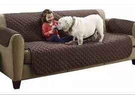 Forro Protector 3 puestos para Sofá y Mascotas