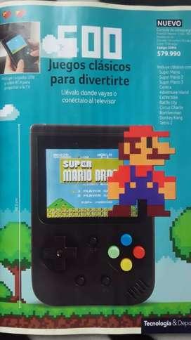 Consola de video juegos