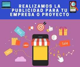 Realizamos la publicidad impresa y online para tu empresa o proyecto