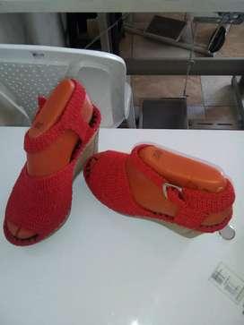 Se venden sandías rojas en crochet talla 39