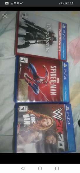 Se vende o se cambian estos 3 juegos