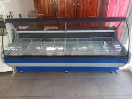 Batea de 240mts c/vidrio curvo // Estructural batea y media res