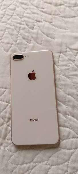 Iphone 8 plus rose gold 64gb excelente condición garantía y factura