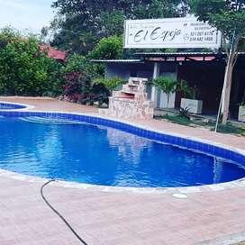 Villa Campestreel Espejo les ofrece hospedaje pisalon amplio para eventos piscina cocina bbqscina