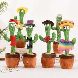 Cactus Bailarín -Juguete de Peluche