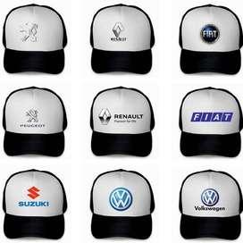 Gorras de Autos Trucker Personalizada