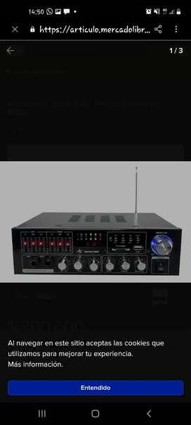 Amplificador estereo