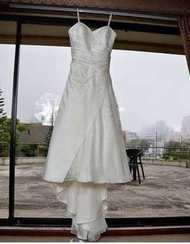 Vendo hermoso vestido de novia (PRECIO NEGOCIABLE)