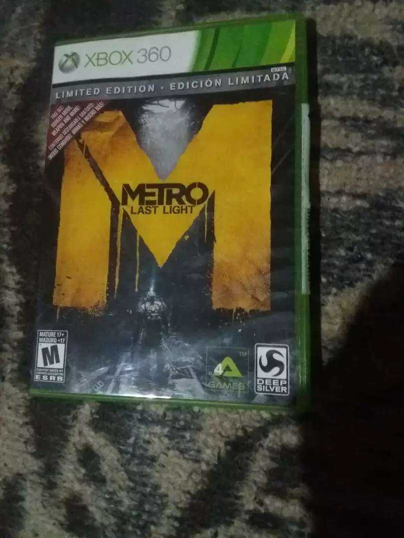 metro last light xbox 360 0