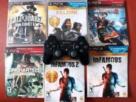 Vendo control PS3 mas Juegos