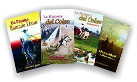 LIBROS VARIOS DE LITERATURA LLANERA.