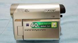 Vendo filmadora Sony DV