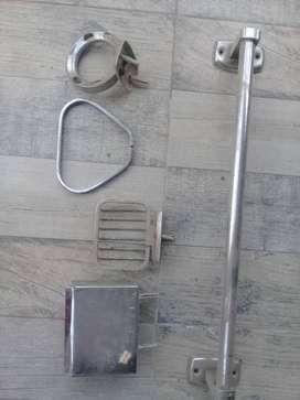 Accesorios de baño en acero inoxidable
