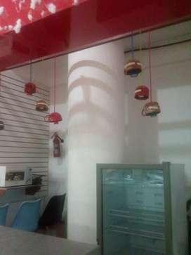 De venta isla bar cafeteria en el 1er piso alto del patio de comida del wordl trade center