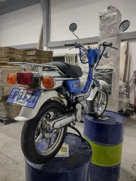 Vendo Suzuki fz50 cromada