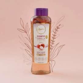 Linea Anyeluz:Shampoo de Cebolla
