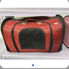 Kit 3 maletines guacales ventanas grandes para Perro o gato