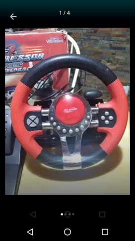 Vendo volante y pedalera