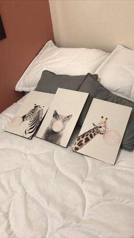 Hermosos cuadros para decorar la habitación