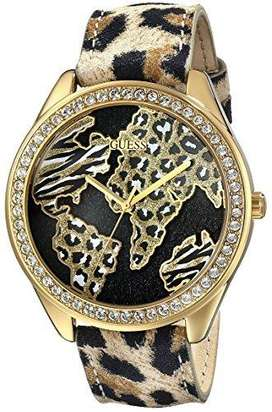 Reloj Guess Animal Print Dama Gold