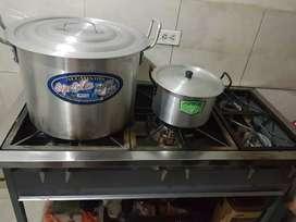 Se vende cocina industrial