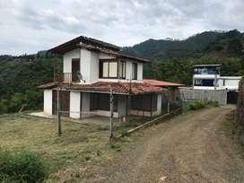 vendo casa campestre con lote de 850 mts2