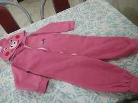 Pijama polar de nena talle 4