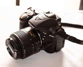Nikon D5300 + Lente 18-55 Vr Ii Kit