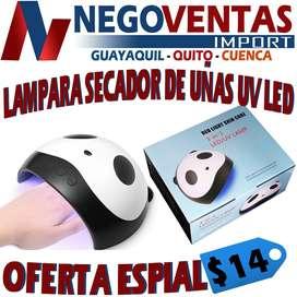 LAMPARA DE SECADO DE UÑAS TIPO PANDA , LAMPARA DE SECADO DE UÑAS