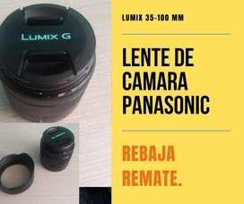 Lente de Camara Panasonic Lumix 35-100 Mm
