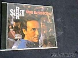 Serrat Nadie Es Perfecto Cd Original