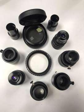 Kit de lentes para microscopio