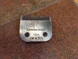 Cuchilla usada Andis CeramicEdge Nro10