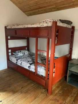 Camarote camas sencillas
