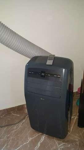 vendo aire acondicionado portátil marca LG