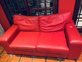 Vendo sillon color rojo muy comodo
