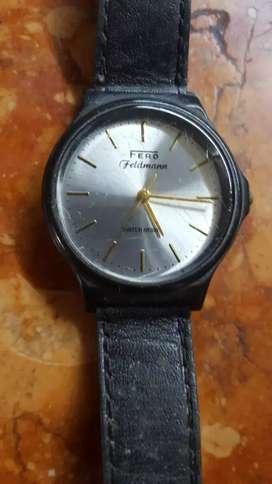 reloj unisex  fero feldman años 70