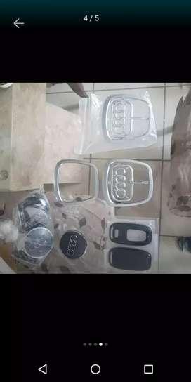 Emblema para timon Audi ,carcasa para llave Audi, tapas para aros audi